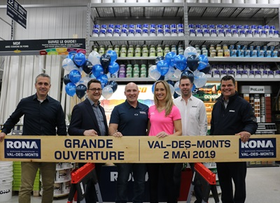 Lowe S Canada Rona Val Des Monts Officially Opens Its New Store Had the kona sutra been around back then, i could have saved some time. rona val des monts officially opens